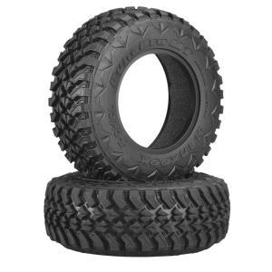 Axial AX12017 2.2/3.0 Hankook Mud Terrain タイヤ 34mm R35 (2) - AX12017 mon-parts-ya