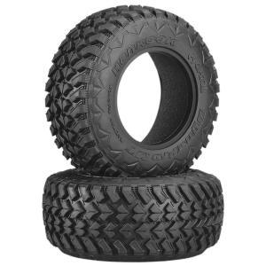 Axial AX12018 2.2/3.0 Hankook Mud Terrain タイヤ 41mm R35 (2) - AX12018 mon-parts-ya