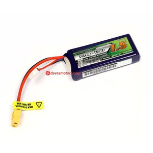 Turnigy Nano-Tech 1500mah 3S 25~50C Lipo Pack - bt298|mon-parts-ya