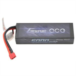 Gens Ace 2s LiPo バッテリー Pack 50C w/Deans Connector (7.4V/5000mAh) - GA-B1022|mon-parts-ya