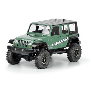 Pro-Line Jeep? Wrangler Unlimited Rubicon クリア ボディ for 12.3