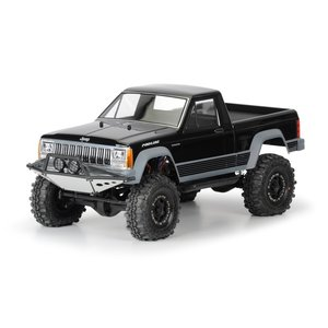 Pro-Line Jeep? Comanche Full Bed クリア ボディ for 12.3