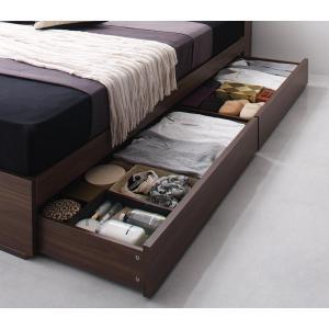 ベッド セミダブルベッド セミダブルサイズ 収納付きベッド ベット ベッドフレームのみ 北欧家具 おしゃれ|mon-tana|05