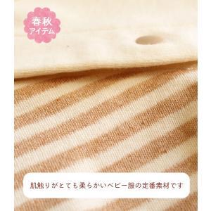 214a34a4b70e8 ... 日本製 オーガニックコットン ツーウェイオール 兼用ドレス OP mini!オーピーミニ 新生児赤ちゃん用 ...