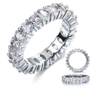 フルエタニティリング エタニティリング オーバルカット レディース 指輪 リング ギフト プレゼント|monacofashion
