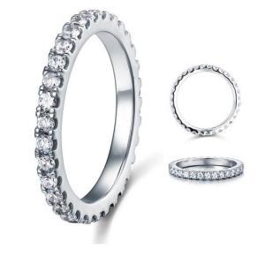 フルエタニティリング エタニティリング レディース 指輪 リング ギフト プレゼント 結婚指輪 婚約指輪 ラウンド ペア|monacofashion