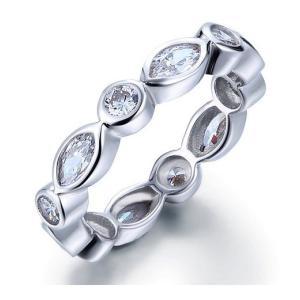 フルエタニティリング エタニティリング レディース 指輪 リング ギフト プレゼント|monacofashion