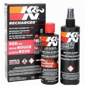 K&N 99-5050 エアーフィルターケアサービスキット オイル237ml/クリーナー 355ml