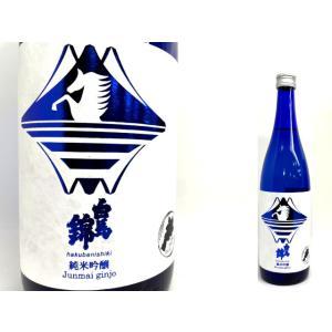 白馬錦 純米吟醸 美米酒 720ml|monchan
