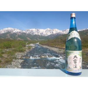 大雪渓 夏の純米酒 1.8L monchan