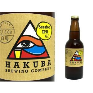HAKUBA BREWING COMPANY セッションIPA 白馬ブリューイングカンパニー クラフトビール 330ml|monchan