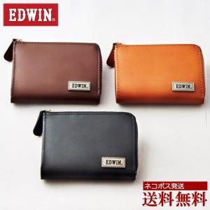 EDWIN コインケース エドウィン 財布 ブランド 小銭入れ L字ファスナー メンズ レディース|moncrest