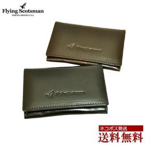 名刺入れ メンズ カードケース ブランド Flying Scotsman fs10 イタリアンレザー/|moncrest