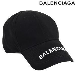 BALENCIAGA バレンシアガ Logo Baseball Cap  ロゴ キャップ /ブラック...