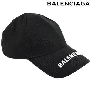 BALENCIAGA バレンシアガ Logo Baseball Cap  ロゴ キャップ/ブラック/...