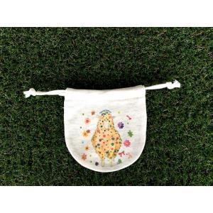 まるころ巾着(小) キラキラひつじ モンゴベス 巾着袋 アクセサリー袋 小物入れ ミニポーチ 羊 日本製 プチプレゼント 収納 MONGOBESS|mongobesswith