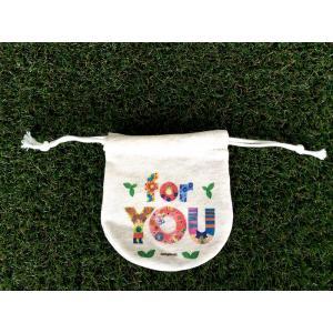 まるころ巾着(小) foryou モンゴベス 日本製 巾着袋 アクセサリー袋 小物入れ ミニポーチ ロゴ バレンタイデー ホワイトデー MONGOBESS|mongobesswith