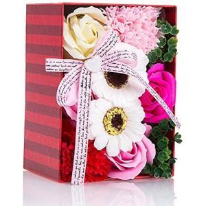 ソープフラワー 創意方形ギフトボックス 誕生日 先生の日 バレンタインデー 昇進 転居など最適としてのプレゼントの商品画像|ナビ