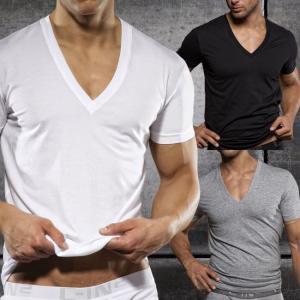 C-IN2 シーインツー メンズ VネックTシャツ CORE BASIC V-NECK T-SHIRT CIN2|monkey