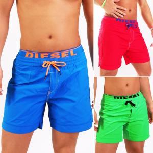 DIESEL ディーゼル メンズ水着 ボードショーツ サーフパンツ BMBX-DOLPHIN-S 2.017 膝上 男性水着 スイムウェア ご返品不可|monkey