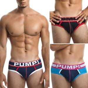 PUMP パンプ ローライズ ブリーフ ビキニ MICRO MESH PUMP! Underwear 男性下着 メンズ 下着 フィットネス 筋トレ monkey