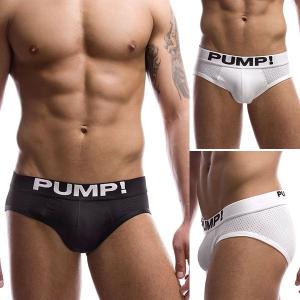 PUMP パンプ ローライズブリーフ CLASSIC BRIEF PUMP! Underwear 男性下着 メンズ 下着 フィットネス 筋トレ monkey