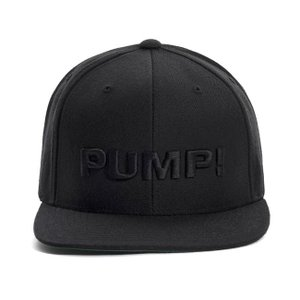 PUMP パンプ メンズ キャップ 帽子 ALL BLACK SNAPBACK CAP PUMP! Underwear|monkey