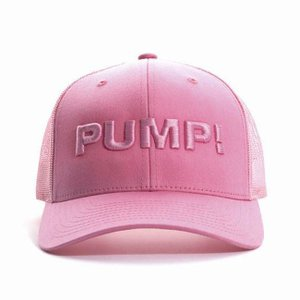 PUMP パンプ メンズ キャップ 帽子 ALL PINK BALL CAP メッシュバック PUMP! Underwear|monkey