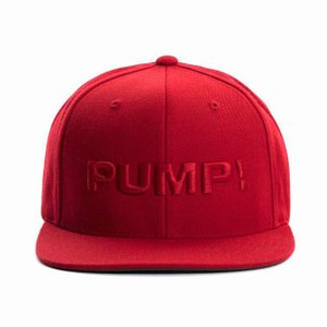 PUMP パンプ メンズ キャップ 帽子 ALL RED SNAPBACK CAP PUMP! Underwear|monkey