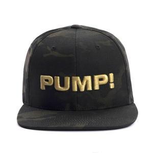PUMP パンプ メンズ キャップ 帽子 DARK MILITARY 迷彩 CAMO SNAPBACK CAP PUMP! Underwear|monkey