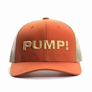 PUMP パンプ メンズ キャップ 帽子 BURNT ORANGE BALL CAP メッシュバック PUMP! Underwear|monkey