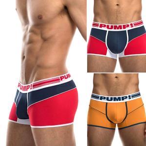 PUMP パンプ ローライズ ボクサーパンツ FREE FIT BOXER PUMP! Underwear メンズ 男性下着 フィットネス 筋トレ|monkey