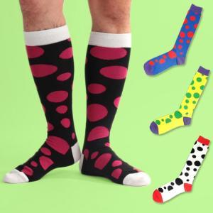 ネコポス送料無料 SOCK HOLIC ハイソックス・靴下 LONG SOCKS バブルコレクター (男性 メンズ 23-25cm 25-27cm 27-29cm 大きいサイズ 小さいサイズ )|monkey