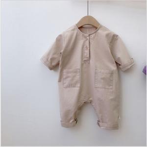 **ナチュかわ カバーオール**赤ちゃん洋服・ベビー服・男女兼用・新生児・出産準備・70cm・出産祝い・ロンパース・シンプルカジュアル|monkeypanda333