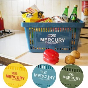 マーキュリー ミニバケツ 3色セット ビビットカラー アルミ 小物入れ Mercury|monkeypanda333