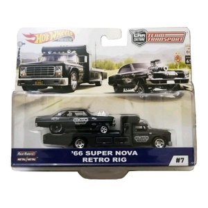 HOT WHEELS ミニカー Team Transport 1966 SUPER NOVA & R...