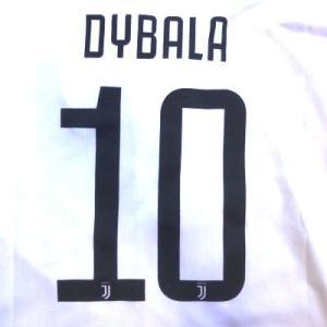 子供用 K007 ユベントス DYBALA*10 ディバラ 白黒 19 ゲームシャツ パンツ付 キッズ ジュニア サッカー ユニフォーム