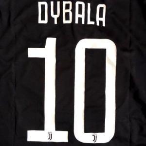 子供用 K007 ユベントス DYBALA*10 ディバラ 白黒 20 ゲームシャツ パンツ付 キッ...