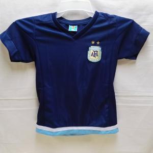 子供用 K041 アルゼンチン DYBALA*22 ディバラ 紺色 16 ゲームシャツ パンツ付 ユ...