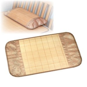 涼感爽やか竹枕カバー 〔適応枕サイズ/43cm×63cm以内〕|mono-allu