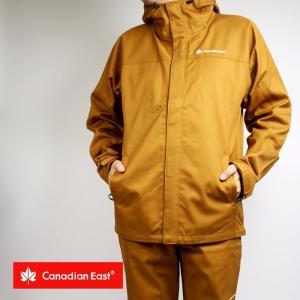 ジャケット メンズ 難燃  アウトドア キャンプ JACKET メンズ CanadianEast カナディアンイースト CEW2000T 無地|mono-b
