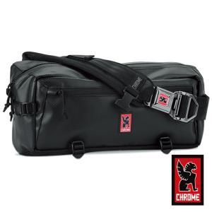 CHROME クローム メンズ バッグ KADET カデット Black/Black ブラック/ブラック BG189BKBKNANA ボディバッグ/ウェストバッグ/2WAY|mono-b