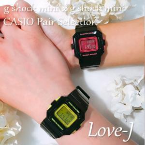 CASIO ジーショック 腕時計 ペアセレクション LOVE-J g-shock mini GMN-550-1CJR GMN-550-1BJR ペアウォッチ/ギフト/記念日/誕生日/クリスマス/カップル|mono-b