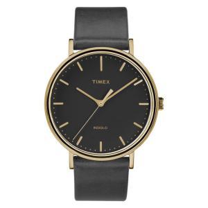 TIMEX タイメックス  レディース 腕時計 Weekender Fairfield ウィークエンダー フェアフィールド ゴールドブラック TW2R26000 mono-b