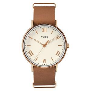 TIMEX タイメックス  レディース 腕時計 Southview Light Brown サウスビュー ライトブラウン TW2R28800 mono-b