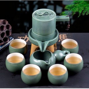 特価 送料無料 茶器セット ティーセット 湯のみ六つ 茶壺 茶道具 茶道 お茶 陶芸 プレゼント 家...