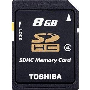 ゆうパケット対応 東芝 SDHCカード 8GB class4 SD-L008G4の商品画像