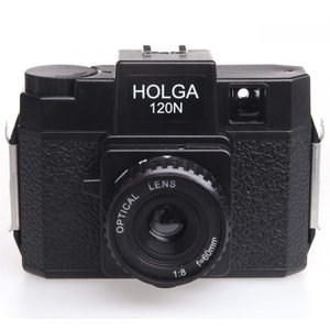 HOLGA ホルガ フィルムカメラ H-120N ブラック ブローニーフィルム使用