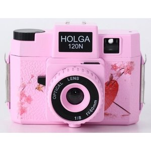 HOLGA ホルガ フィルムカメラ H-120N ピンク ブローニーフィルム使用 日本限定デザイン