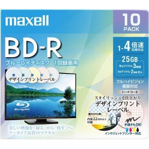 マクセル BD-R 録画用 25GB 4倍速対...の関連商品6